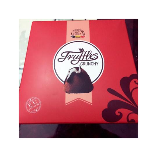 法国进口 德菲丝(Truffes)松露形代可可脂巧克力 奇趣脆米型 800g 晒单图