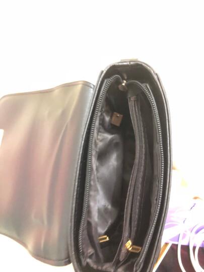 娇诗娅 单肩包女包学生韩版新款小包包时尚百搭女士包简约休闲链条小方包包女包斜跨小包 灰色 晒单图