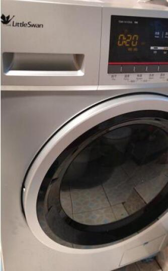 小天鹅(Little Swan)8公斤洗烘一体变频滚筒洗衣机 纯臻大容量 TD80-1411DXS 晒单图