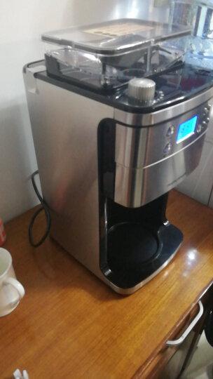摩飞电器(Morphyrichards)咖啡机不锈钢 全自动磨豆美式MR4266 拉丝银 晒单图