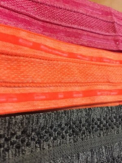 南极人运动头带男生女跑步篮球装备吸汗带针织护具止汗头巾健身绑发带学生潮 动感橙 均码 晒单图