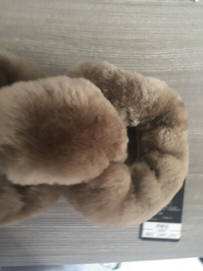 纯羊毛方向盘套冬季汽车把套速腾大众卡罗拉领动朗逸轩逸迈腾福睿斯别克宝马本田凯美瑞威朗福克斯宝骏帕萨特 MBT-01驼色 皮毛一体 晒单图