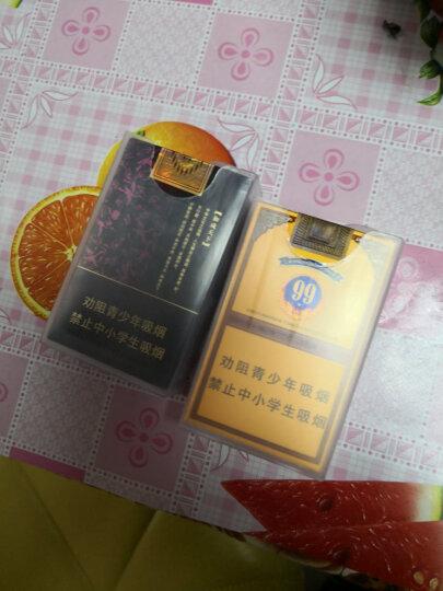 烟盒20支装薄烟盒 男士个性创意烟盒 整包软壳香烟透明塑料烟盒子 超薄香烟壳香烟盒20支装 1组5个 晒单图