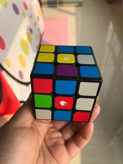 葡萄(putao) 三阶魔方 儿童启蒙益智早教玩具 葡萄魔方星球版+标准版底座 晒单图