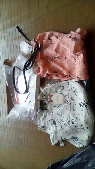 香姬莲连衣裙2018新款韩版女气质V领中长款长袖蕾丝连衣裙8082 8048紫色 L 晒单图