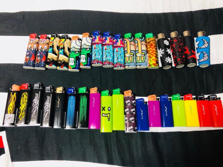 1组5只塑料烟盒20支装软包创意香-烟盒防水防压性创意香-菸保护盒 硬包烟盒专用5只 晒单图