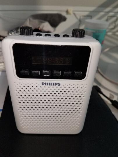 飞利浦(PHILIPS) SBM120 SLV 插卡音箱 便携小音响 音乐MP3外响播放器 FM收音机 银色 晒单图