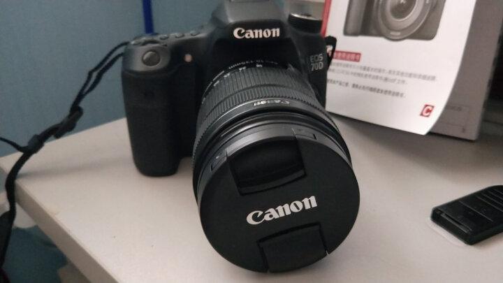 佳能(CANON) 70D/60D/80D/77D/750D/800D单机身中端级数码单反相机套装 佳能800D+EF18-55 STM套机 官方标配 晒单图