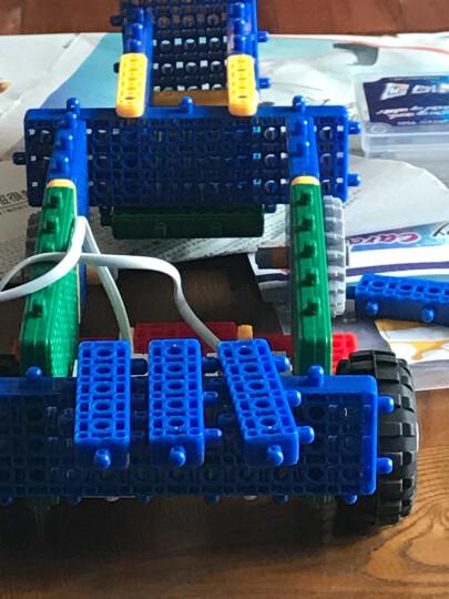 韩端科技 教育机器人 刷卡编程机器人 大颗粒积木 积木玩具 搭建拼插 机器人 【启宝A】 晒单图
