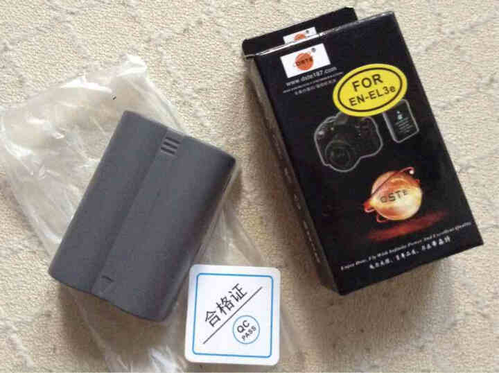蒂森特(dste) 尼康 D200 D700 D90 D50 单反 EN-EL3E 电池 晒单图