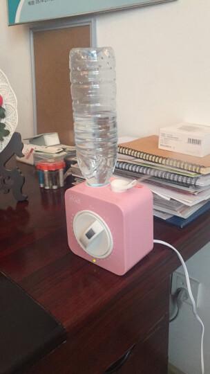 哥尔(Goal) 空气加湿器 家用卧室办公室桌面 迷你静音香薰矿泉水瓶子除菌2080 蓝色+温湿度计 晒单图