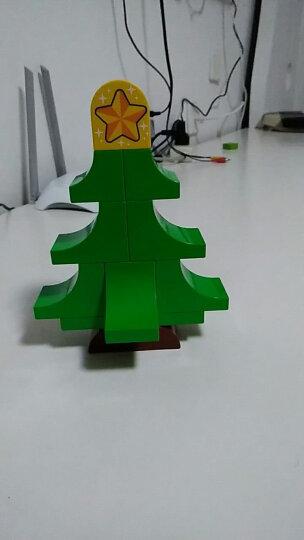 乐高 玩具 得宝 DUPLO 2岁-5岁 圣诞老人的寒假 10837 积木LEGO 晒单图