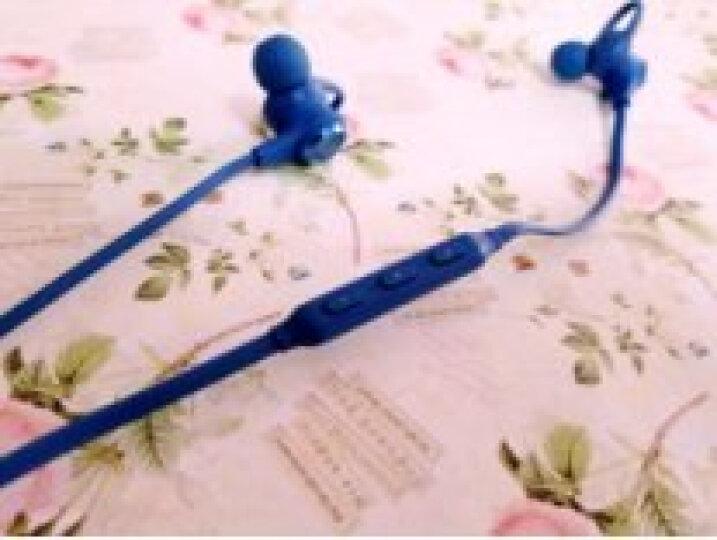Linner(聆耳)NC50主动降噪无线蓝牙运动通话跑步磁吸防水入耳头戴式音乐立体声吃鸡小爱同学耳机 宝石蓝 晒单图