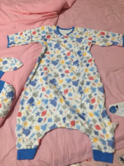 米乐鱼 婴儿睡袋抱被新生儿童宝宝秋冬防踢被3段历险太空100*60cm 晒单图
