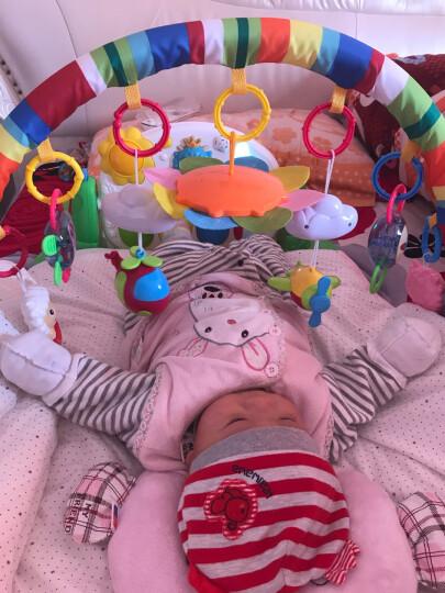 贝恩施(beiens)婴幼儿早教益智玩具 音乐爬行脚踏钢琴健身架789-13K绿(新老包装随机发货) 晒单图