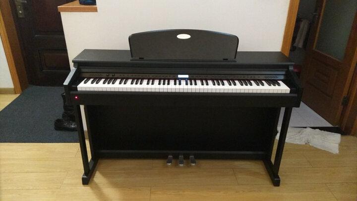 美德威 立省200元 电钢琴88键重锤智能数码电子钢琴成人初学者考级家用教学电子琴 S70蓝牙跟弹版 白色爆款 送货到家  质保两年 晒单图