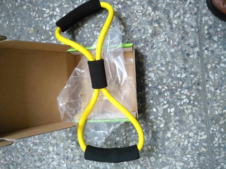 sengka8字拉力器拉力绳扩胸器臂力器健身器材瑜伽拉力带 儿童标准型黄色 晒单图