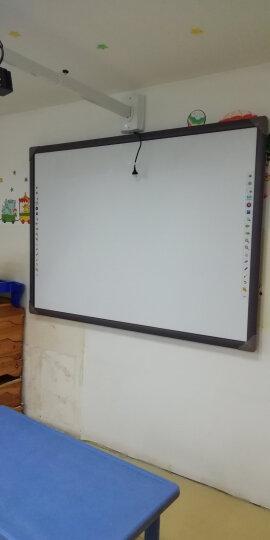 斯进科技交互式红外电子白板十点智能互动触摸白板教育电子白板多种规格会议白板支持上门安装 86英寸电子白板(10点触控/4:3) 官配 晒单图