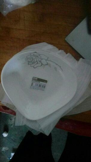 雅诚德 arst 陶瓷雅航凉菜盘小吃碟醋碟味碟套装(6只装) 晒单图