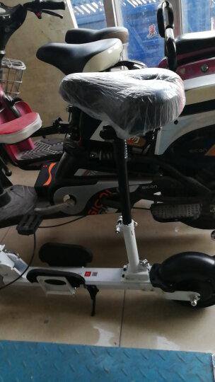 阿尔郎(AERLANG) 阿尔郎 折叠电动滑板车成人代步车小型迷你代驾锂电池电动自行车女 Z3轻便高颜值滑板车标准款(续航10-15公里) 带座椅款 晒单图