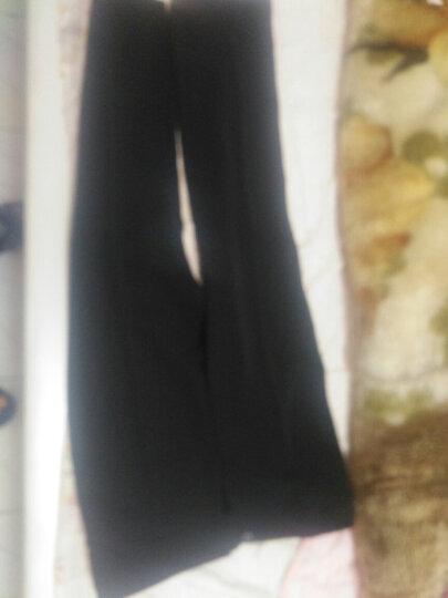 衫博男士西裤正装裤黑色长裤子 2019春夏免烫西装裤直筒裤休闲裤 宽松型-藏青夏款 28码腰围2尺1 晒单图