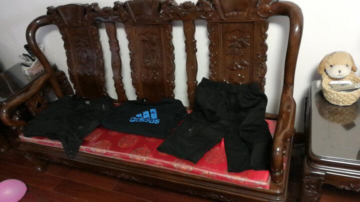 阿迪达斯Adidas男装短袖T恤2018新款透气舒适男子运动休闲短袖Tee 18年新款CD4864 XL 晒单图