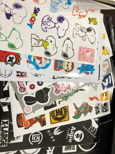 可爱卡通旅行箱贴纸笔记本贴纸潮流牌拉杆箱贴纸吉他贴防水 【大号41*29cm】随机5张 晒单图