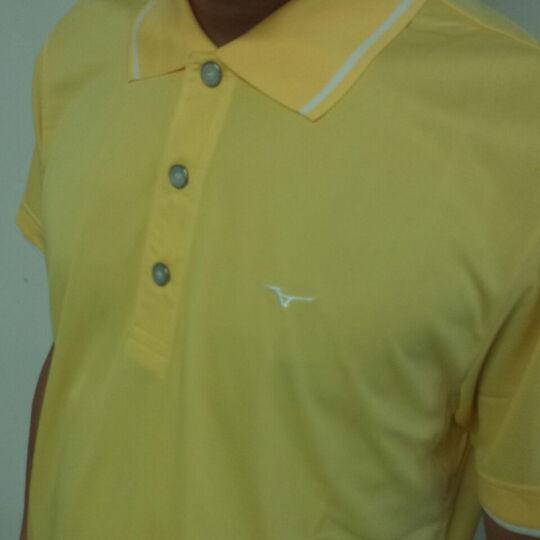 高尔夫T恤 美津浓 MIZUNO 男 高尔夫服饰 T恤 多色 橙色 XL码 晒单图