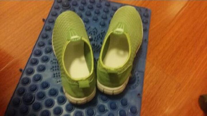 人本帆布鞋网布鞋女夏季 超轻跑步鞋 纯色情侣网鞋 透气学生鞋 深蓝(男款) 男款39码 晒单图