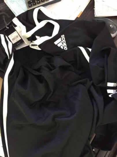 阿迪达斯 Adidas 无袖篮球服套装 青少年男款篮球背心短裤 团队DIY定制可印字印号 红白BQ7767/BQ7765单面 XL(185/104A) 晒单图