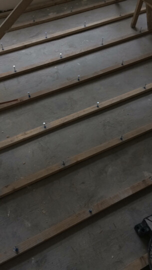 美固袋装 木龙骨敲击式锚栓尼龙套管式龙骨钉实木地板复合地板钉门窗吊顶橱柜室内装潢用膨胀螺丝钉 10*100【50粒】 晒单图