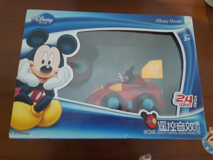 迪士尼 Disney 电动玩具 米奇感应轨道车 小火车头套装赛车轨道儿童玩具(黄色彩盒)MC23 晒单图
