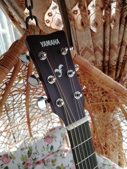 雅马哈(YAMAHA)FG800BL黑色单板民谣木吉他 晒单图