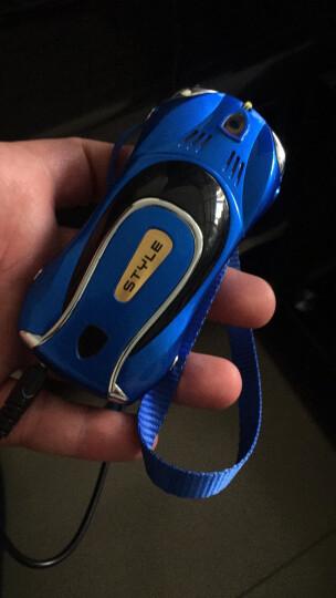 紐萬(Niuwan) F1 CDMA电信2G 迷你手机 超小汽车跑车学生手机 儿童手机 红色 晒单图