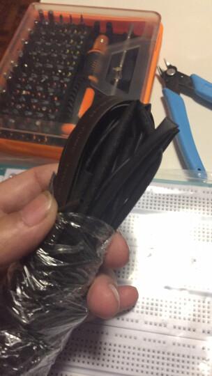 TaoTimeClub 热缩管 绝缘套管 黑色  直径:0.6/0.8/1/2-6/10-20mm 3mm   1米 晒单图