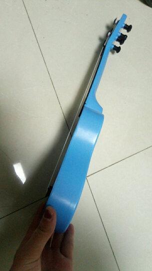 贝芬乐(buddyfun)儿童吉他益智玩具 弦外之音尤克里里 男孩女孩早教启蒙乐器礼物 带拨片88042蓝色(中号) 晒单图