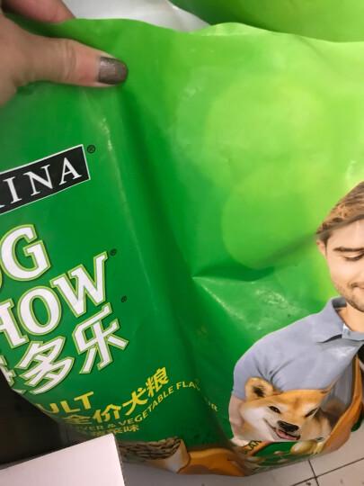 康多乐(DOG CHOW)宠物成犬狗粮 全犬型8kg 鸡肉蔬菜味 晒单图