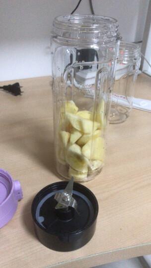 【无线充电】奥克斯(AUX)榨汁机便携式随身杯 家用迷你多功能榨汁杯小型炸水果汁机搅拌杯 BL91 晒单图