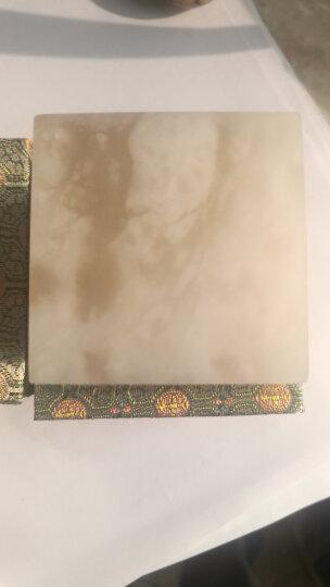 金石印坊 昆仑冻石平头方章  六种尺寸可供选择  单枚售  配锦盒 篆刻练习石 5*5*5CM 晒单图