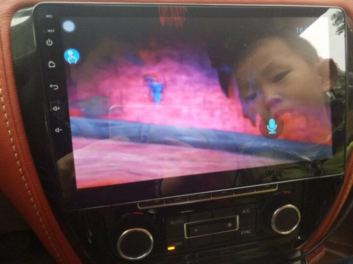 鸿帆 大众新桑塔纳宝来捷达 速腾朗逸POLO车载安卓大屏智能车机导航仪倒车影像一体机 Wifi版2+32G+后视+ADAS记录仪+安装 晒单图