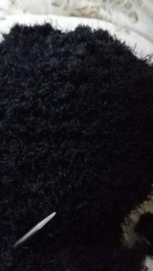 金貂绒线珊瑚绒卡通粗毛衣线围巾线宝宝毛线儿童绒线凤羽丝长毛绒线织卡通毛衣皮草风DIY 731 单价50克 晒单图