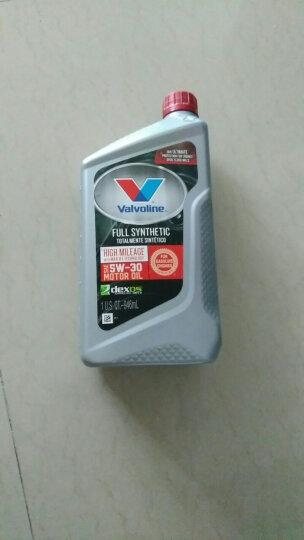 胜牌(Valvoline)全合成机油 高里程 星冠MAX LIFE 5W-20 SN 1QT 美国原装进口 晒单图