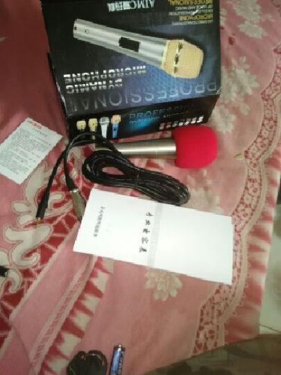 纽曼 NM-610手机麦克风 电容麦 手机 K歌唱吧专用迷你小话筒 时尚粉 晒单图