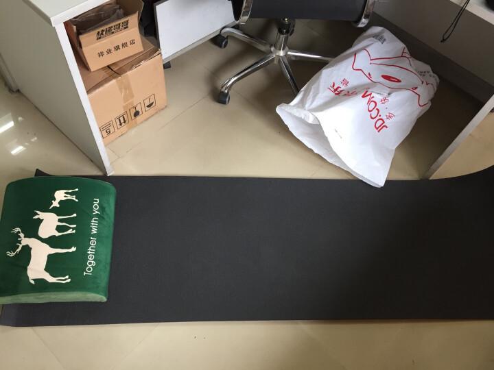 红色营地 户外防潮垫子 铝箔帐篷垫子 加厚单人瑜伽垫 184*55*1cm 晒单图