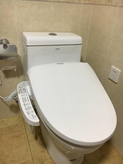 松下(panasonic)智能马桶盖洁身器日本电子坐便盖板加热冲洗1130长款 晒单图