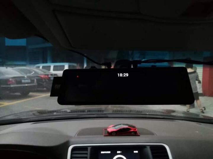凌度行车记录仪全屏流媒体智能后视镜导航电子狗一体机车载语音声控云镜1080P高清夜视镜头汽车倒车影像 基础版-双镜头 前后双录-有电子狗(32G卡) 晒单图