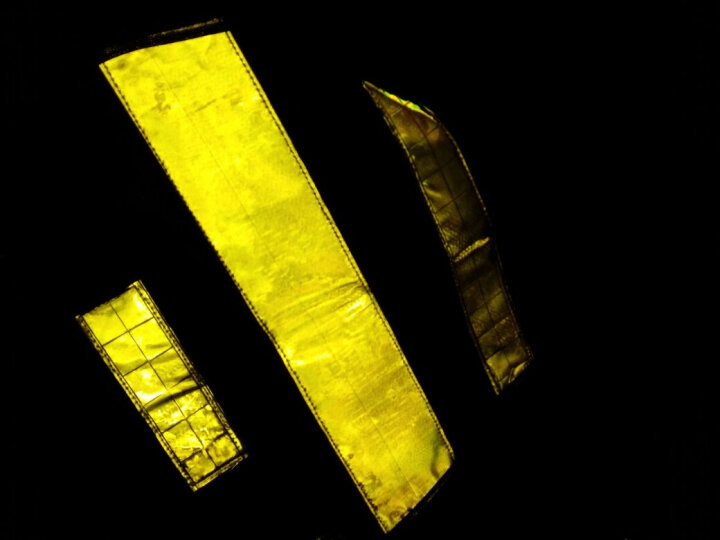 林盾(LINDUN)建筑施工反光背心安全反光马甲工程室外作业防护服渔网反光衣服 橘网晶格黄 晒单图