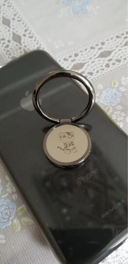 铭玺(MXIHY) 十二生肖金属磁吸手机指环扣支架 华为荣耀苹果小米vivo通用粘贴式支架 十二生肖珍藏版枪黑色【虎】 晒单图