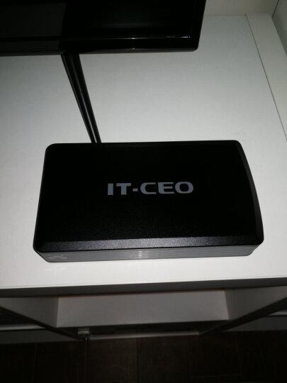 IT-CEO IT-733S 3.5英寸USB3.0移动硬盘盒 外置盒子 2.5/3.5英寸SATA/SSD固态硬盘底座 红黑 晒单图