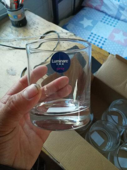 乐美雅 Luminarc 圆形伊斯朗无铅玻璃水杯 果汁饮料茶杯啤酒杯 300ml 6只装 晒单图